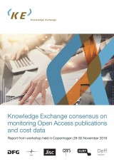 Knowledge Exchange consensus on monitoring Open Access publications and cost data