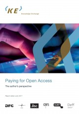 Paying for Open Access: The Authors perspective