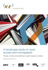 A landscape study on open access and monographs