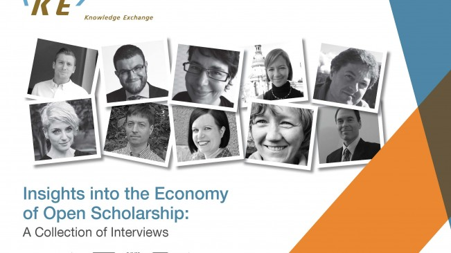 Insights into the Economy of Open Scholarship: A collection of Interviews