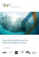 Open Scholarship and the need for collective action