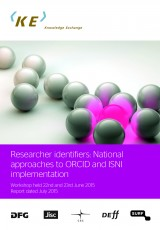 Researcher identifiers: National approaches to ORCID and ISNI implementation