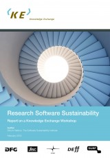 Research Software Sustainability: Report on Knowledge Exchange workshop