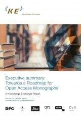 Executive Summary: Towards a Roadmap for Open Access Monographs