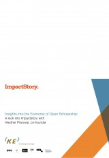 Insights into the Economy of Open Scholarship: A look into Impactstory with Heather Piwowar, co-founder
